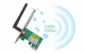 Card thu sóng Wifi TPlink TL-WN781ND PCI Express