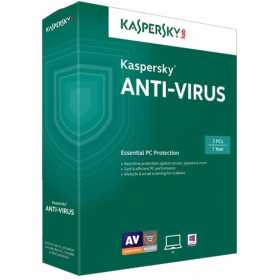 Phần mềm diệt virus Kaspersky Antivirus 3 máy tính ( KAS 3PC )