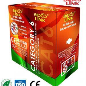 Cáp mạng máy tính Aipoo Link UTP Cat 6-OFC 305M