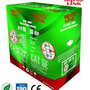 Cáp mạng máy tính Aipoo Link S-FTP Cat 5e-CCA 305M