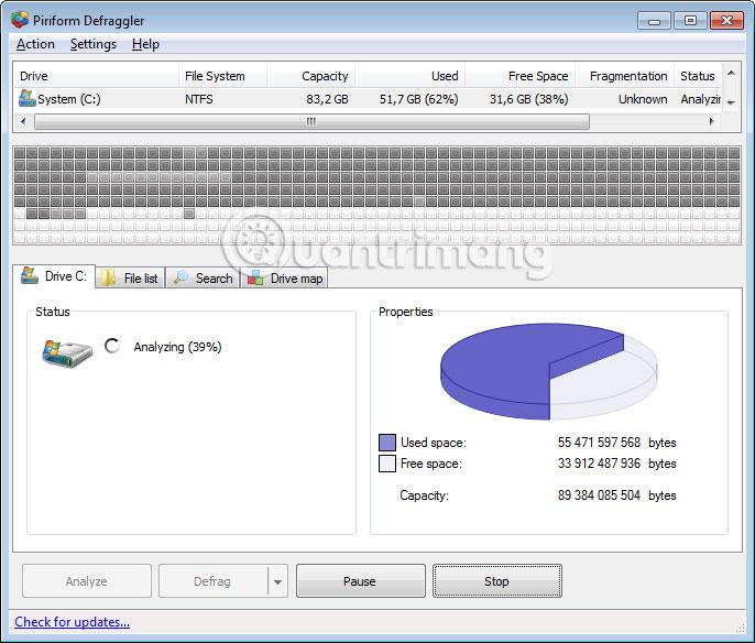 Những phần mềm chống phân mảnh ổ cứng chất lượng