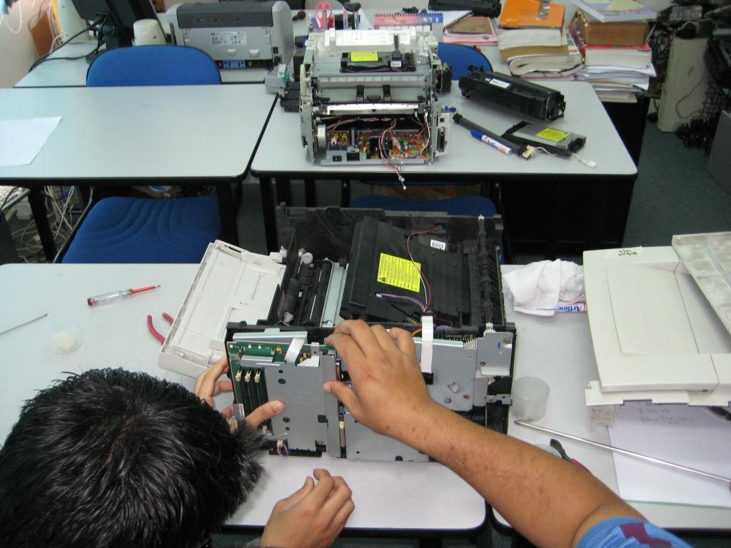 Nạp mực máy in HP huyện Bình Chánh