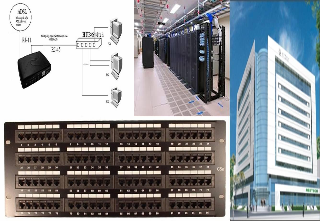 Thi công hệ thống mạng Quận 3