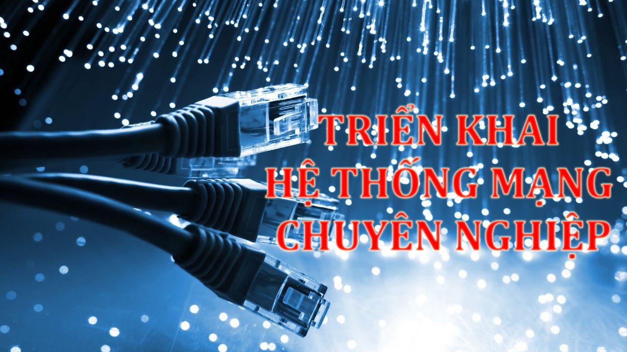 Thi công mạng công ty Quận Tân Phú