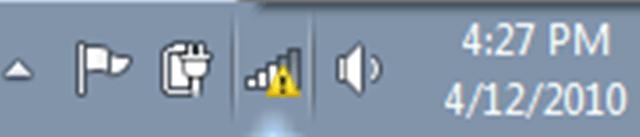 Hướng dẫn sửa lỗi mạng máy tính bị chấm than vàng